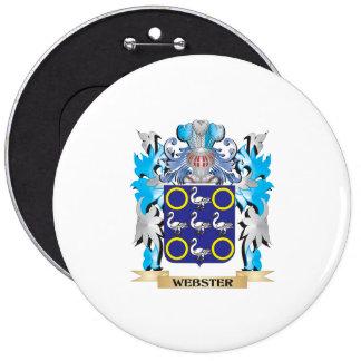 Escudo de armas de Webster - escudo de la familia Pin