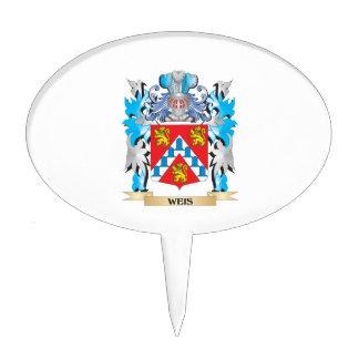 Escudo de armas de Weis - escudo de la familia Decoraciones Para Tartas