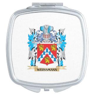 Escudo de armas de Weissmann - escudo de la Espejos De Maquillaje