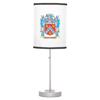 Escudo de armas de Weissmann - escudo de la Lámpara De Mesa