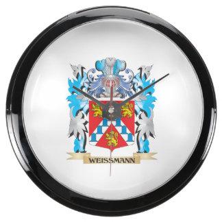 Escudo de armas de Weissmann - escudo de la Relojes Pecera