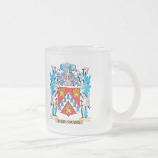 Escudo de armas de Weissmann - escudo de la Taza Cristal Mate