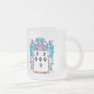 Escudo de armas de Welburn - escudo de la familia Taza De Cristal