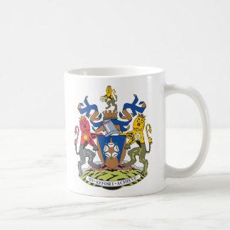 Escudo de armas de West Yorkshire Tazas De Café