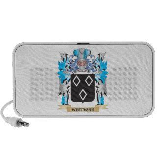 Escudo de armas de Whitacre - escudo de la familia Altavoces De Viajar
