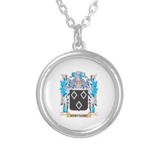 Escudo de armas de Whitacre - escudo de la familia Pendiente Personalizado