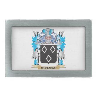 Escudo de armas de Whitacre - escudo de la familia Hebilla De Cinturon Rectangular