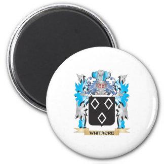 Escudo de armas de Whitacre - escudo de la familia Imán Redondo 5 Cm