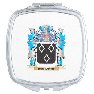 Escudo de armas de Whitacre - escudo de la familia Espejo Para El Bolso