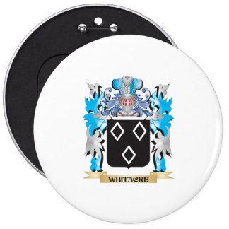 Escudo de armas de Whitacre - escudo de la familia Chapa Redonda 15 Cm