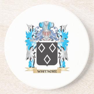 Escudo de armas de Whitacre - escudo de la familia Posavasos Para Bebidas