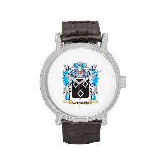 Escudo de armas de Whitacre - escudo de la familia Relojes