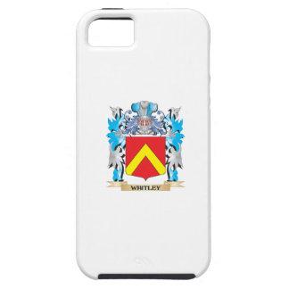 Escudo de armas de Whitley - escudo de la familia iPhone 5 Case-Mate Carcasas