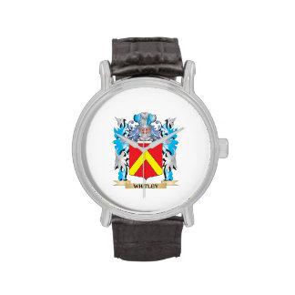 Escudo de armas de Whitley - escudo de la familia Reloj