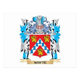 Escudo de armas de Whyte - escudo de la familia Postal