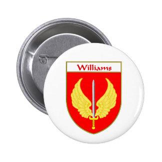 Escudo de armas de Williams/escudo de la familia Pins
