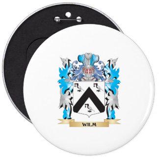 Escudo de armas de Wilm - escudo de la familia Chapa Redonda 15 Cm