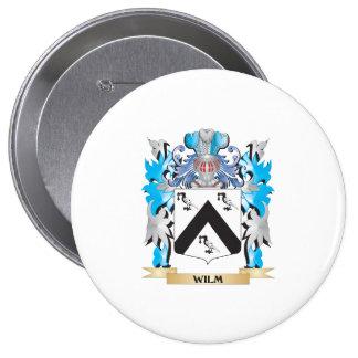 Escudo de armas de Wilm - escudo de la familia Chapa Redonda 10 Cm