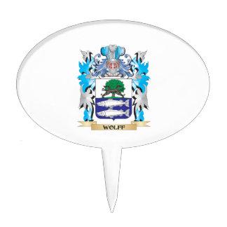 Escudo de armas de Wolff - escudo de la familia Decoraciones Para Tartas