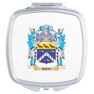 Escudo de armas de Wray - escudo de la familia Espejos Compactos