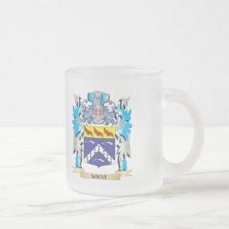 Escudo de armas de Wray - escudo de la familia Taza De Cristal