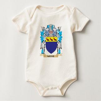 Escudo de armas de Wraye - escudo de la familia Mameluco De Bebé
