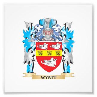 Escudo de armas de Wyatt - escudo de la familia Cojinete