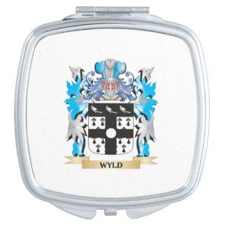 Escudo de armas de Wyld - escudo de la familia Espejo Maquillaje