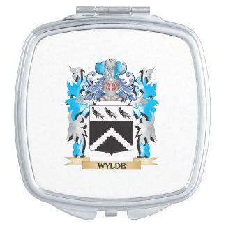 Escudo de armas de Wylde - escudo de la familia Espejos Para El Bolso