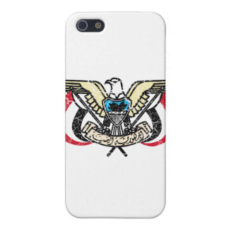 Escudo de armas de Yemen iPhone 5 Cobertura