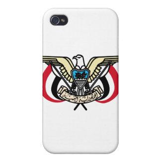 Escudo de armas de Yemen iPhone 4/4S Funda