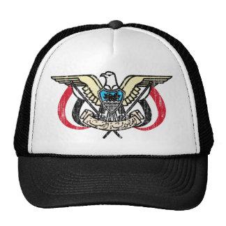 Escudo de armas de Yemen Gorras De Camionero