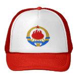 Escudo de armas de Yugoslavia (1945-1992) Gorros Bordados