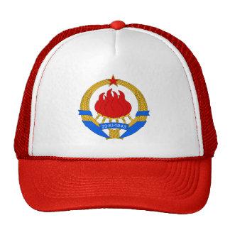 Escudo de armas de Yugoslavia (1945-1992) Gorras
