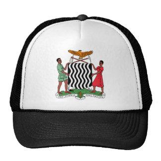 Escudo de armas de Zambia Gorro