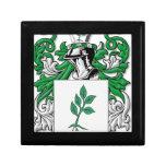 Escudo de armas de Zastrow Cajas De Joyas