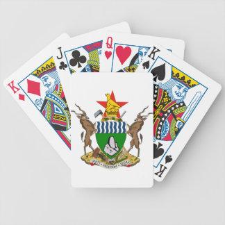 Escudo de armas de Zimbabwe Cartas De Juego