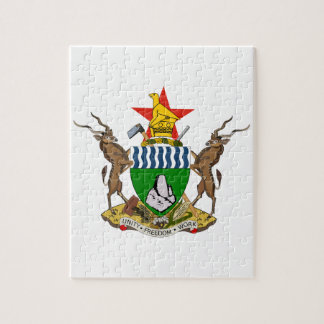 Escudo de armas de Zimbabwe Rompecabeza