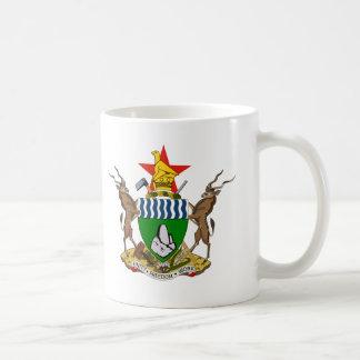 Escudo de armas de Zimbabwe Taza