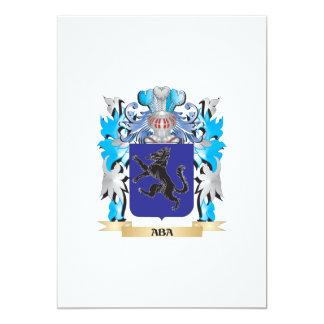 """Escudo de armas del Aba Invitación 5"""" X 7"""""""