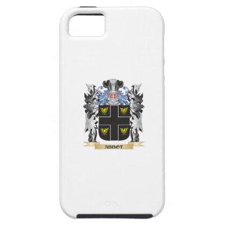Escudo de armas del abad - escudo de la familia iPhone 5 carcasa
