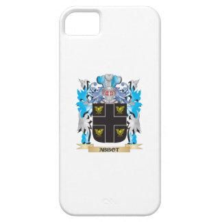 Escudo de armas del abad iPhone 5 carcasa