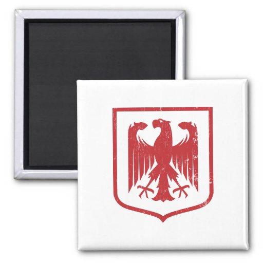 Escudo de armas del alemán Eagle - de Deutschland Imán De Frigorífico