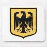 Escudo de armas del alemán Eagle - de Deutschland Tapete De Raton