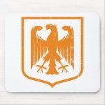 Escudo de armas del alemán Eagle - de Deutschland Alfombrillas De Ratón