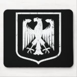 Escudo de armas del alemán Eagle - de Deutschland Tapetes De Ratón