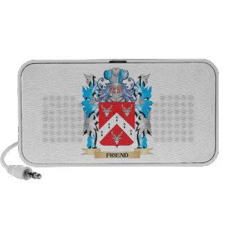 Escudo de armas del amigo - escudo de la familia iPhone altavoces