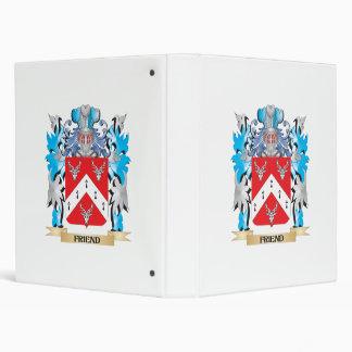 Escudo de armas del amigo - escudo de la familia