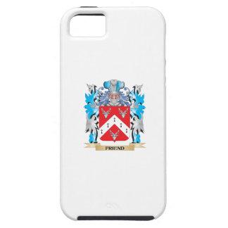 Escudo de armas del amigo - escudo de la familia iPhone 5 protector