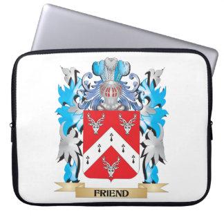 Escudo de armas del amigo - escudo de la familia mangas computadora